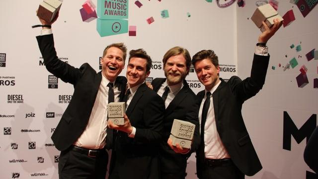 Sie haben sich durchgesetzt unter den drei «Best Talents»: Hecht aus Luzern.