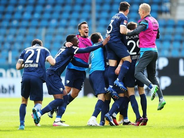 Bochum kehrt in die Bundesliga zurück.