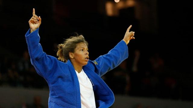 Rafaela Silva ist Olympiasiegerin im Judo.