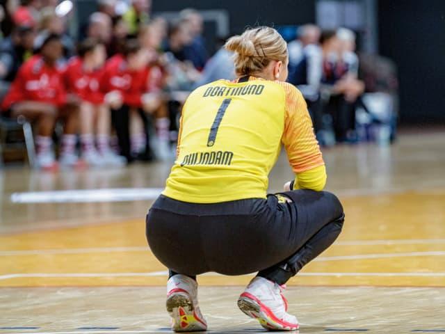 Dortmunds Handballerinnen.