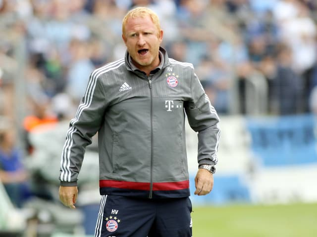 Heiko Vogel im FCB-Trainer