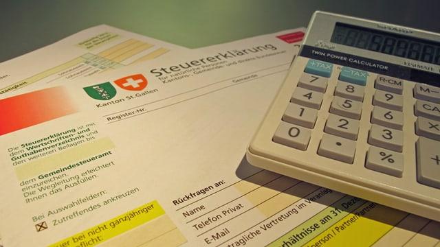 St. Galler Steuererklärung