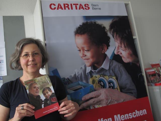 Doris Stucki, Caritas: «Wir werden überrannt von Interessenten für die Patenschaften.»