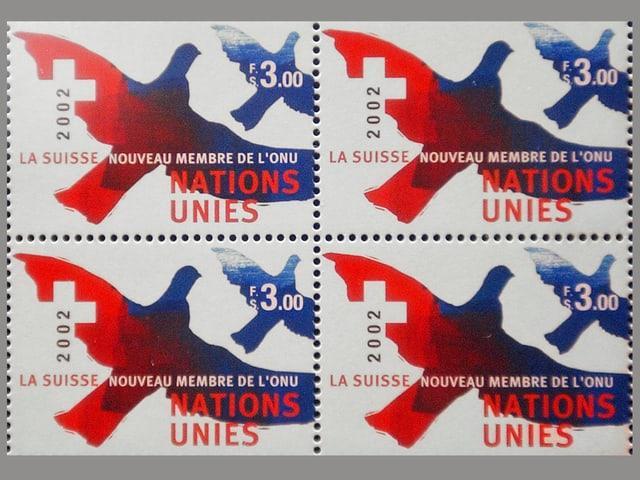 UNO-Sondermarken