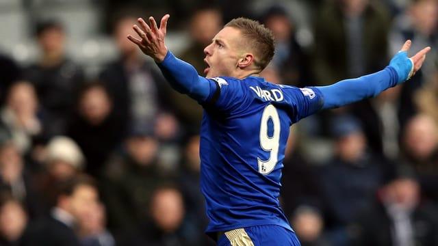 Jamie Vardy von Leicester City
