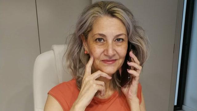 Conxa Borrell, Prostituierte, Sexualtherapeutin.