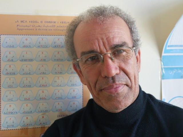 Ein Porträt von Ahmed Assid.