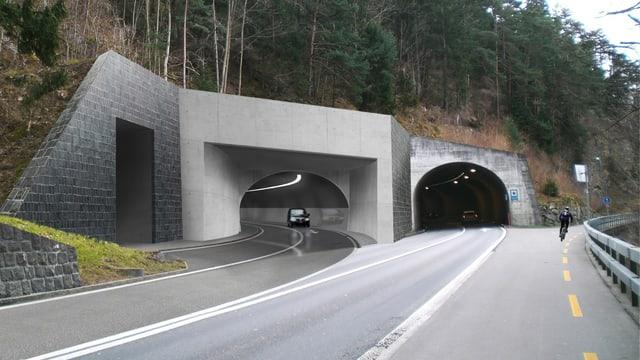 Das Projekt «Neue Axenstrasse»