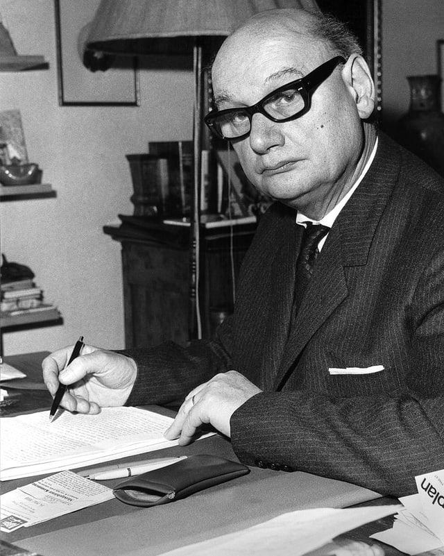 Schweizer Historiker Jean-Rodolf von Salis