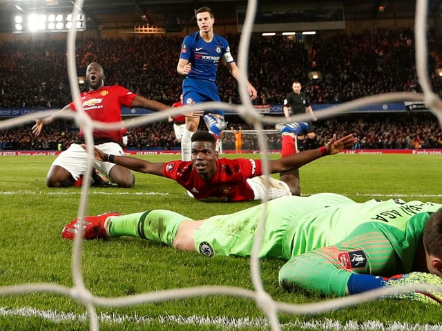 Paul Pogba nach seinem Treffer zum 2:0.