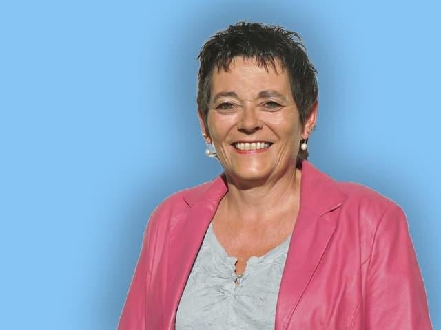 Die Zuger Politikerin Andrea Sidler Weiss.