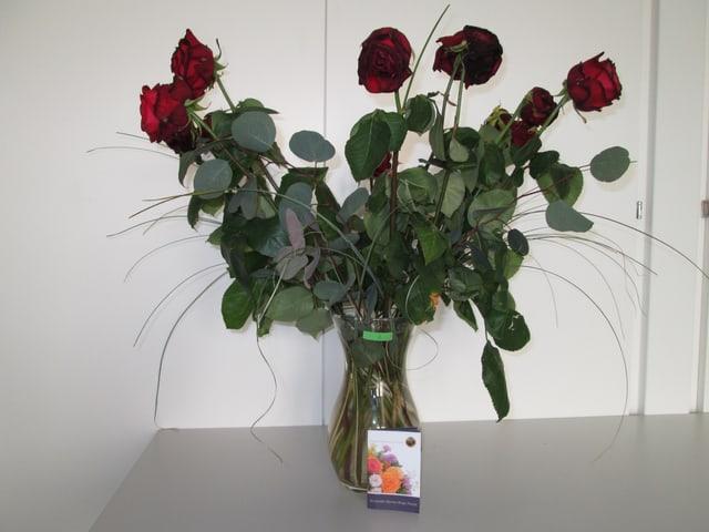 Ungenügender Rosenstrauss von Fleurop.ch