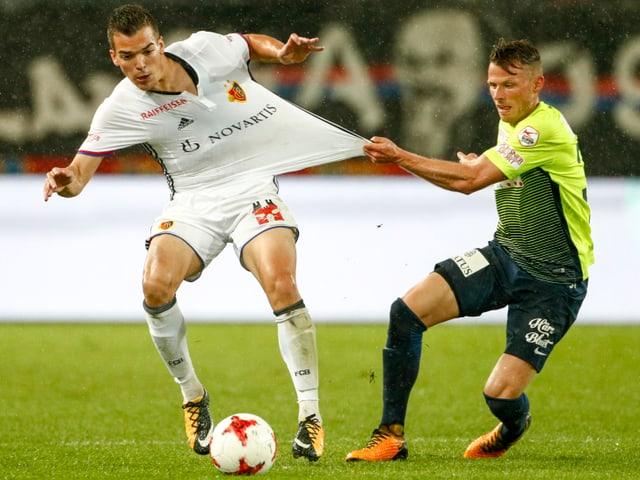 Thuns Glarner hält Basels Bua zurück