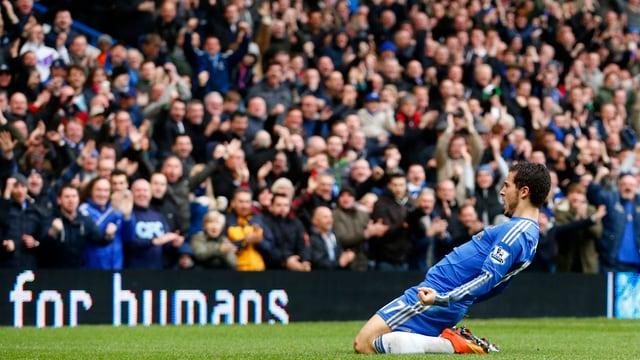 Die Zuschauer an der Stamford Bridge haben viel Grund zum Jubeln.