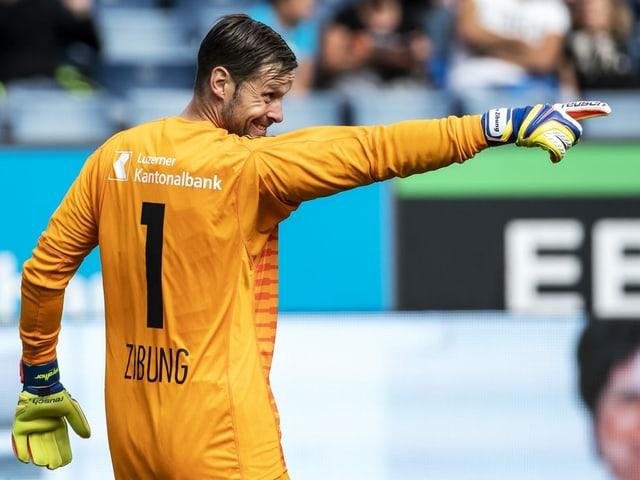 David Zibung spielt auch kommende Saison für Luzern.