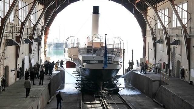 Die Werft Romanshorn