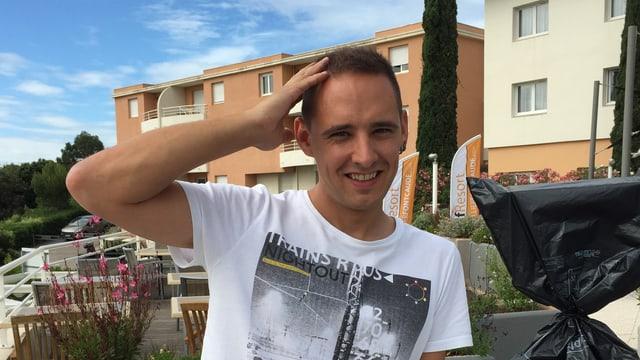 purtret da Andreas Wieland, reporter RTR