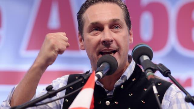 FPÖ-Obmann H.C. Strache