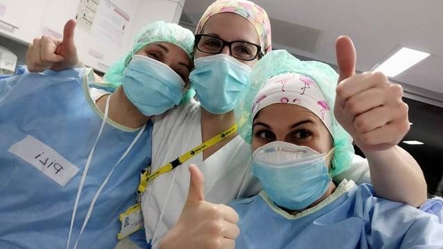 Meritxell Gibert, Pflegerin in der Notaufnahme eines Spitals in Barcelona