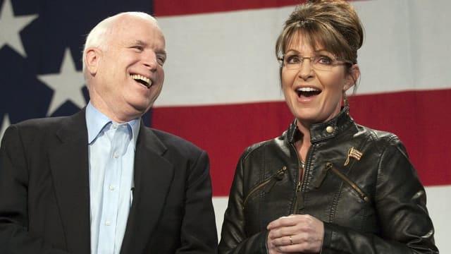 McCain und Sarah Palin anno 2010
