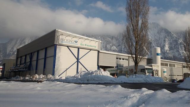 Gebäude von Frostag