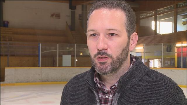 Marco Ritzmann, il nov president da hockey grischun.
