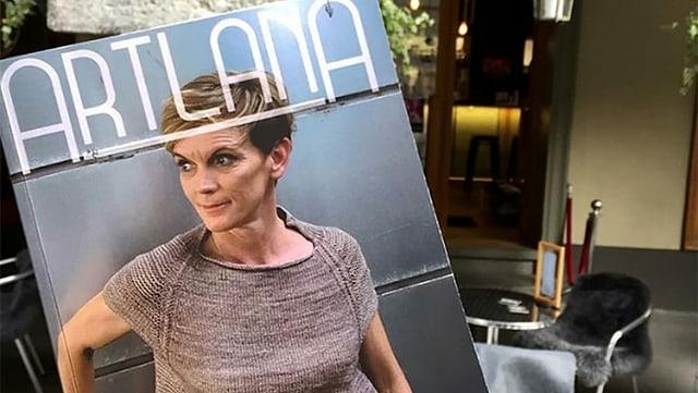 """Ein Magazin mit dem Titel """"Artlana"""""""