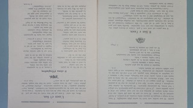 La emprima ediziun da december 1916 – 2 e 3 pagina.