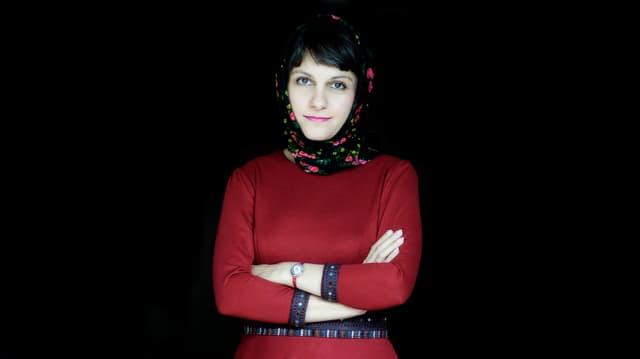 Die iranische Regisseurin Ida Panahandeh.