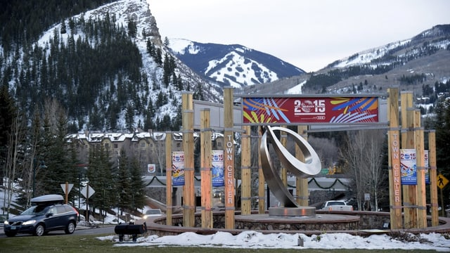Logo dal campiunadi mundial da ski alpin 2015.