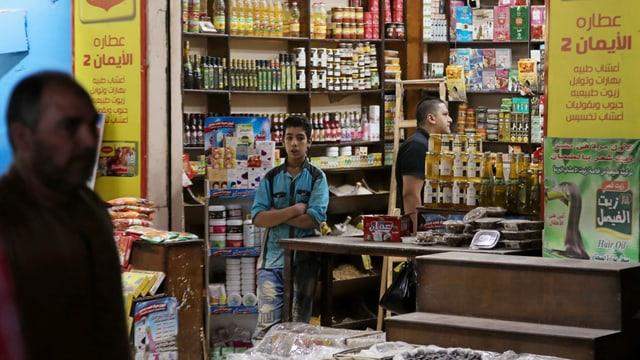 Laden in Kairo