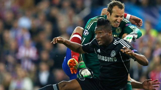 Die Defensiv-Arbeit dürfte bei Chelsea auch im Rückspiel erste Priorität geniessen.