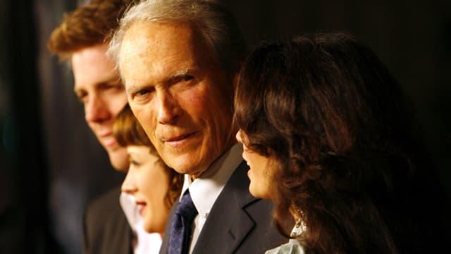 Clint Eastwood mit Kindern und Ex-Frau.