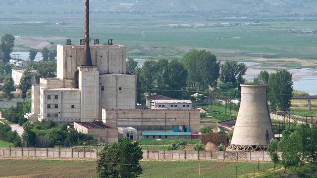 Die Atomanlage Yongbyon