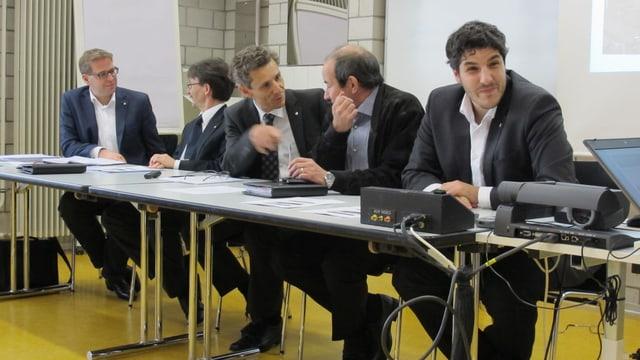 Der neue Schaffhauser Stadtrat nach der Ämterzuteilung.