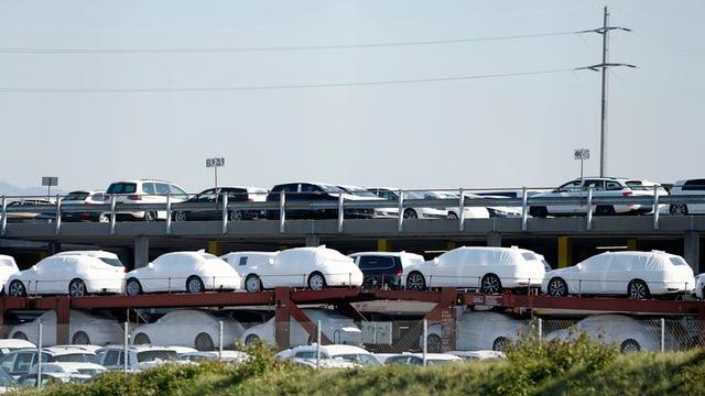 Autos da la marca VW.
