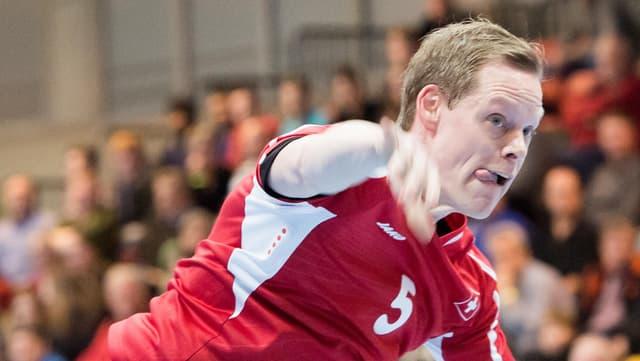 Manuel Liniger erzielte 5 Tore für die Schweiz.
