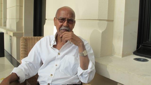 Nuruddin Farah, somalischer Schriftsteller und globaler Nomade.