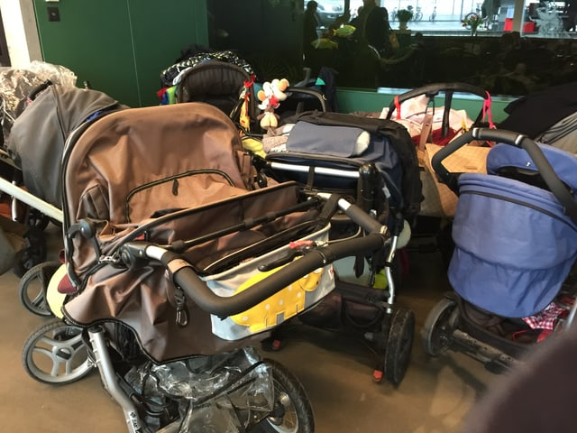 Kinderwagenchaos