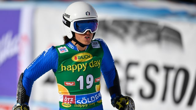 Elena Curtoni muss lange pausieren