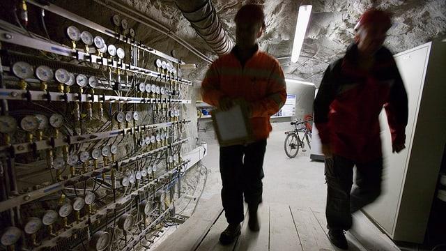 La NAGRA ha intercurrì differents lieus adattas per deponer rument nuclear.