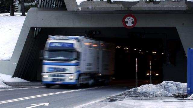 Tunnelportal Gotthard Airolo