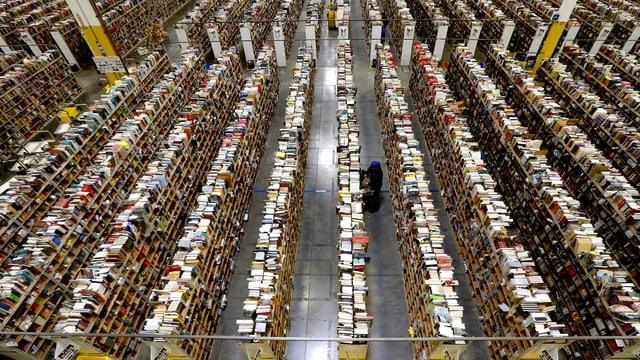 Verteilzentrum von amazon.com