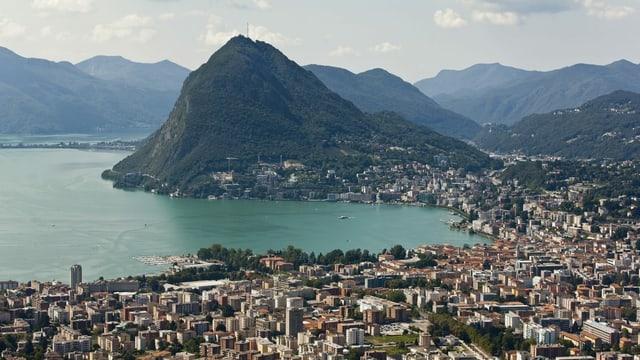 Lugano mit dem San Salvatore.