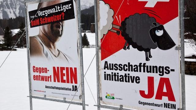 Il sveran svizzer aveva acceptà l'iniziativa da repatriament il 2010.