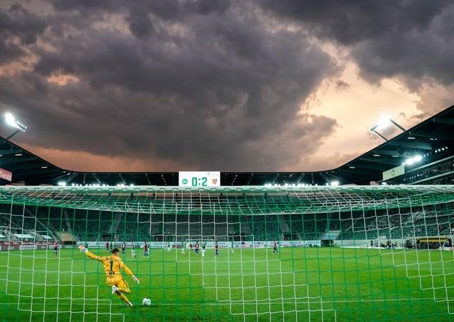 Die Fussball-Klubs müssen im Finish der Meisterschaft ohne volle Stadien auskommen.