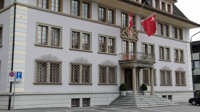 Das Regierungsgebäude in Schwyz.