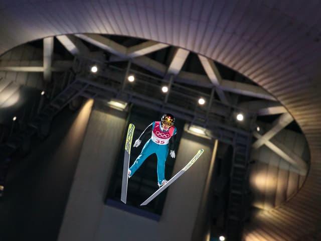 Simon Ammann in Pyeongchang