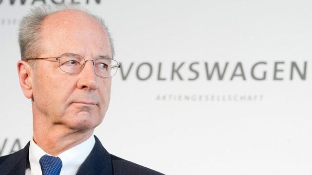 VW-Verwaltungsratschef Hans Dieter Poetsch im Bild.