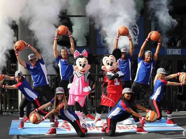 Eröffnung der NBA Experience